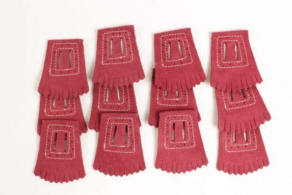 Franja Ornamental p/ sapato Velcro